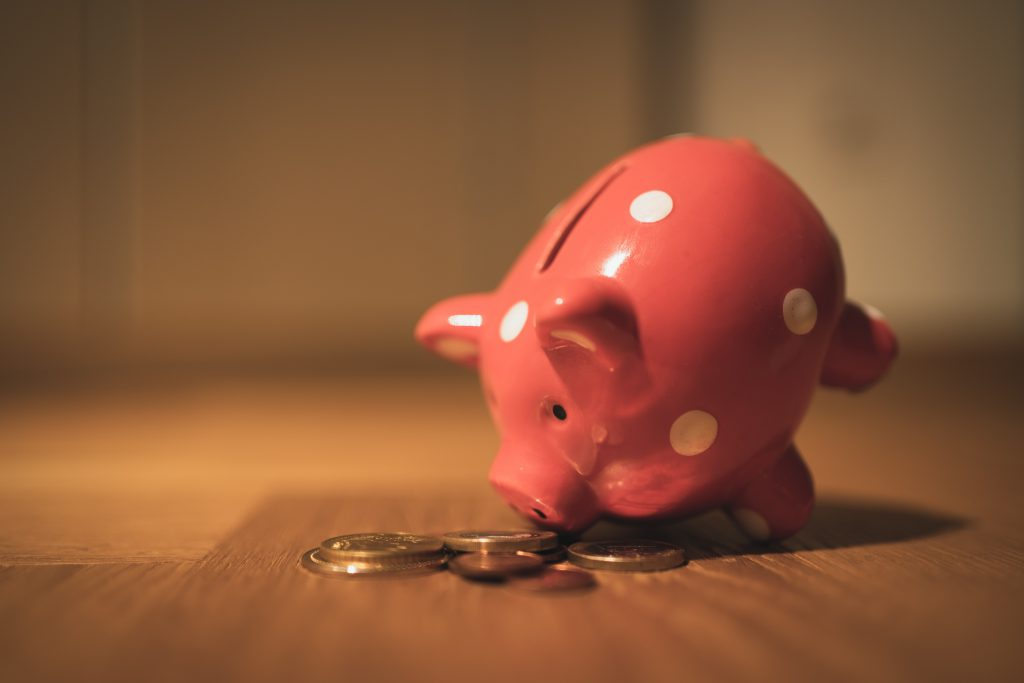 Prioritising saving for a rainy day fund